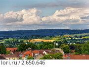 Купить «Окрестности города Падерборн, Германия», фото № 2650646, снято 17 июня 2019 г. (c) Fro / Фотобанк Лори