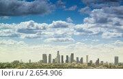 Купить «Красивые облака над Лос-Анджелесом», видеоролик № 2654906, снято 9 января 2011 г. (c) Константин Сутягин / Фотобанк Лори
