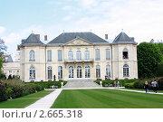 Купить «Музей Родена в Париже», фото № 2665318, снято 25 апреля 2010 г. (c) Татьяна Крамаревская / Фотобанк Лори