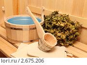 Купить «Банный натюрморт», фото № 2675206, снято 2 июля 2011 г. (c) Алексей Кузнецов / Фотобанк Лори