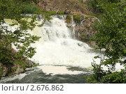 Карачуновский водопад (большой) Стоковое фото, фотограф Сергей Шульгин / Фотобанк Лори