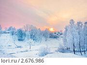 Купить «Зимний пейзаж», фото № 2676986, снято 6 декабря 2010 г. (c) Майя Крученкова / Фотобанк Лори