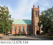 Англиканская церковь святого Андрея в Москве (2011 год). Стоковое фото, фотограф Владимир Горощенко / Фотобанк Лори