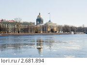 Купить «Адмиралтейская набережная. Санкт-Петербург», эксклюзивное фото № 2681894, снято 23 апреля 2011 г. (c) Александр Щепин / Фотобанк Лори