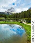 Купить «Альпийское озеро Лаго-ди-Анторно в Италии», фото № 2683454, снято 8 июня 2011 г. (c) Юрий Брыкайло / Фотобанк Лори