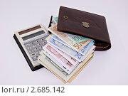 Деньги. Стоковое фото, фотограф Андрей Гугин / Фотобанк Лори