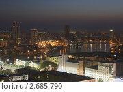 Ночной Екатеринбург (2011 год). Стоковое фото, фотограф Филипп Яндашевский / Фотобанк Лори
