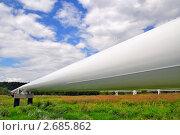 Купить «Трубопровод высокого давления», фото № 2685862, снято 28 июля 2011 г. (c) Швадчак Василий / Фотобанк Лори