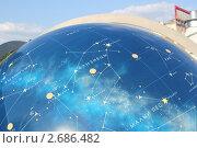 Созвездие Близнецы. Звездное небо. Парк неба. Московский планетарий (2011 год). Редакционное фото, фотограф Tatyana Kubasova / Фотобанк Лори