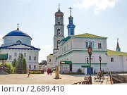 Купить «Раифский Богородицкий мужской монастырь», фото № 2689410, снято 30 июля 2011 г. (c) Никита Ветренный / Фотобанк Лори