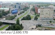 Купить «Калининград. Городской пейзаж», видеоролик № 2690170, снято 10 апреля 2020 г. (c) Сергей Куров / Фотобанк Лори