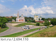 Купить «Церкви Серпухова», эксклюзивное фото № 2694110, снято 8 июля 2011 г. (c) Юрий Морозов / Фотобанк Лори