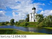 Купить «Церковь Покрова на реке Нерли», фото № 2694938, снято 27 августа 2010 г. (c) Яков Филимонов / Фотобанк Лори