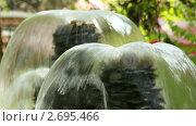 Небольшой фонтан (2011 год). Редакционное видео, видеограф Юрий Пономарёв / Фотобанк Лори