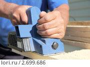 Купить «Электрический рубанок», фото № 2699686, снято 3 июня 2011 г. (c) Алексей Кириллов / Фотобанк Лори