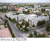 Центр Ашхабада. Обзорный вид (2009 год). Редакционное фото, фотограф Наталья Громова / Фотобанк Лори