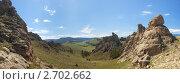 Купить «Баргузинская долина. Деревня Суво», фото № 2702662, снято 19 февраля 2020 г. (c) Ильин Сергей / Фотобанк Лори