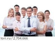 Купить «Бизнес-команда», фото № 2704666, снято 1 июня 2011 г. (c) Raev Denis / Фотобанк Лори