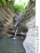 Купить «Сочи, водопад Псыдах», фото № 2708474, снято 7 августа 2011 г. (c) Анна Мартынова / Фотобанк Лори