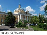 Купить «Церковь Марии Магдалины при 1-й Градской больнице. Москва», эксклюзивное фото № 2709054, снято 30 июня 2011 г. (c) lana1501 / Фотобанк Лори