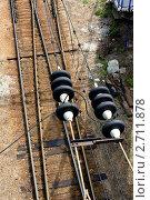 Железная дорога. Стоковое фото, фотограф Aleksandr Chernukhin / Фотобанк Лори