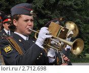 Купить «Полицейский духовой оркестр», эксклюзивное фото № 2712698, снято 12 июня 2011 г. (c) Free Wind / Фотобанк Лори
