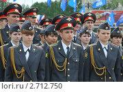 Купить «Курсанты полиции», эксклюзивное фото № 2712750, снято 12 июня 2011 г. (c) Free Wind / Фотобанк Лори