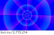 Вращение на синем фоне. Стоковая анимация, видеограф Valeriu Panfilov / Фотобанк Лори