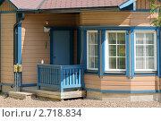 Купить «Уютный домик с балконом», фото № 2718834, снято 26 июля 2011 г. (c) Валерия Попова / Фотобанк Лори
