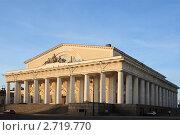 Купить «Санкт-Петербург, здание Биржи», эксклюзивное фото № 2719770, снято 28 апреля 2011 г. (c) Дмитрий Неумоин / Фотобанк Лори