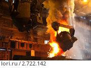 Купить «Чугунолитейные ковши в конвертерном цехе завода», фото № 2722142, снято 27 июля 2011 г. (c) Кекяляйнен Андрей / Фотобанк Лори