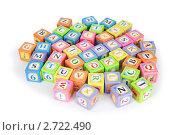 Купить «Детские кубики с алфавитом», фото № 2722490, снято 17 октября 2010 г. (c) Elnur / Фотобанк Лори