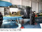 Советский истребитель И-16 (2011 год). Редакционное фото, фотограф Павел Красихин / Фотобанк Лори