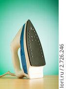 Купить «Современный электрический утюг», фото № 2726246, снято 1 августа 2010 г. (c) Elnur / Фотобанк Лори