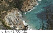 Купить «Морской прибой», видеоролик № 2733422, снято 19 августа 2011 г. (c) Виталий Романович / Фотобанк Лори
