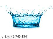 Купить «Всплеск воды», фото № 2745154, снято 5 июля 2011 г. (c) Константин Тавров / Фотобанк Лори