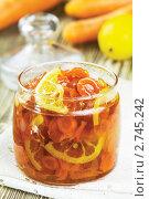 Купить «Варенье из моркови и лимона», эксклюзивное фото № 2745242, снято 25 апреля 2011 г. (c) Александр Курлович / Фотобанк Лори