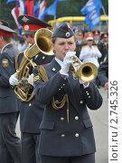 Купить «Полицейский духовой оркестр», эксклюзивное фото № 2745326, снято 12 июня 2011 г. (c) Free Wind / Фотобанк Лори