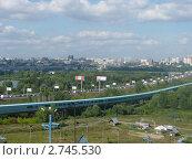 Новосибирск. Панорамный вид (2011 год). Редакционное фото, фотограф Вячеслав Чернов / Фотобанк Лори