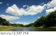 Купить «Озеро летом», видеоролик № 2747714, снято 23 июня 2010 г. (c) Михаил Коханчиков / Фотобанк Лори