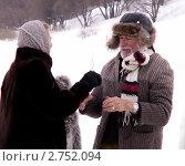 Купить «Пьер Ришар в Вологде», фото № 2752094, снято 1 января 2011 г. (c) Копосова Татьяна Геннадьевна / Фотобанк Лори