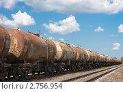 Купить «Старые железнодорожные цистерны», фото № 2756954, снято 26 августа 2011 г. (c) Шупейко Алексей / Фотобанк Лори