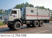 Купить «Аварийно спасательная машина», фото № 2764598, снято 27 августа 2011 г. (c) Геннадий Соловьев / Фотобанк Лори