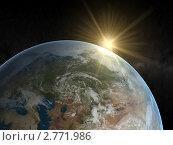 Купить «Восход солнца над Европой», иллюстрация № 2771986 (c) Кирилл Путченко / Фотобанк Лори
