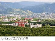 Купить «Красноярск, городской пейзаж», фото № 2779510, снято 27 июля 2011 г. (c) Анна Мартынова / Фотобанк Лори