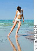 Купить «Девушка на пляже», фото № 2782014, снято 8 декабря 2019 г. (c) Кропотов Лев / Фотобанк Лори