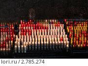 Купить «Свечи поминальные и во здравие. Католицизм.», фото № 2785274, снято 2 сентября 2011 г. (c) EXG / Фотобанк Лори