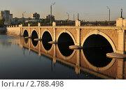 Купить «Мост через реку Миасс в Челябинске», фото № 2788498, снято 14 мая 2010 г. (c) Малышев Андрей / Фотобанк Лори