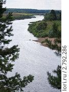 Купить «Река Угра», эксклюзивное фото № 2792286, снято 29 июля 2011 г. (c) Сергей Лаврентьев / Фотобанк Лори