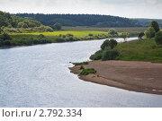 Купить «Река Угра», эксклюзивное фото № 2792334, снято 29 июля 2011 г. (c) Сергей Лаврентьев / Фотобанк Лори